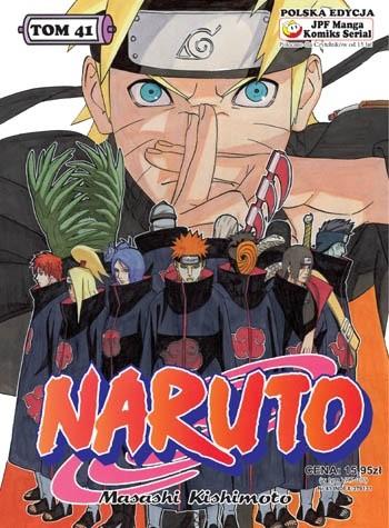 Okładka książki Naruto tom 41 - Wybór Jiraiyi