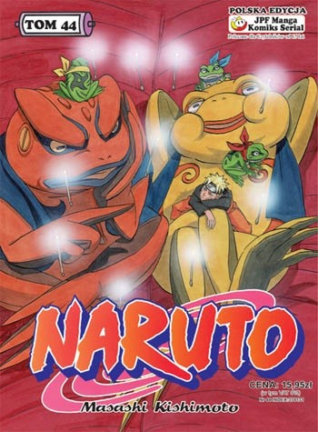 Okładka książki Naruto tom 44 - Nauka sztuki pustelniczej