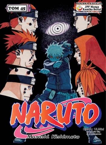 Okładka książki Naruto tom 45 - Konoha - pole bitwy