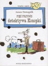Okładka książki Pięć przygód detektywa Konopki