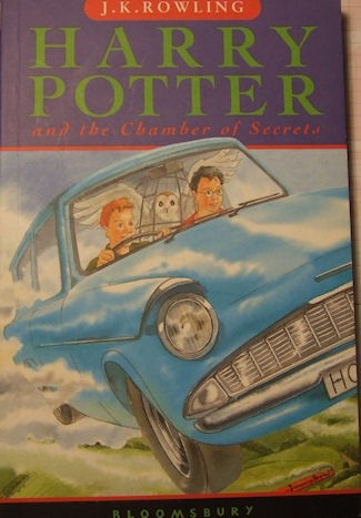 Okładka książki Harry Potter and Chamber of Secrets