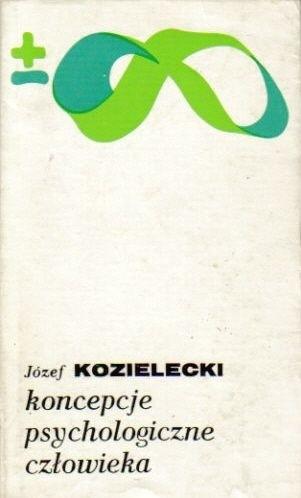 Okładka książki Koncepcje psychologiczne człowieka