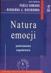 Okładka książki Natura emocji. Podstawowe zagadnienia