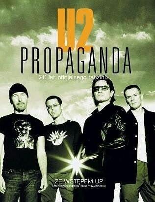Okładka książki U2 Propaganda