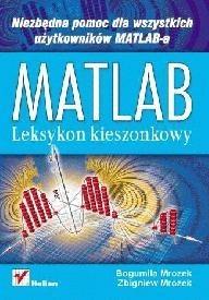 Okładka książki Matlab- leksykon kieszonkowy