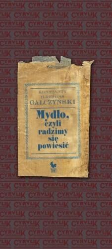 Okładka książki Mydło, czyli radzimy się powiesić