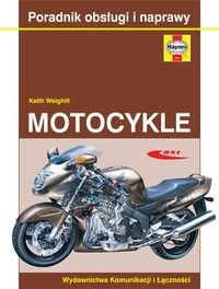 Okładka książki Motocykle. Poradnik obsługi i naprawy