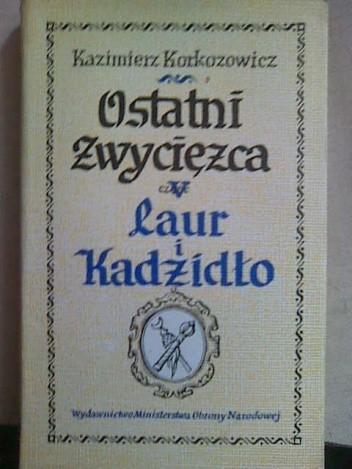 Okładka książki Laur i kadzidło