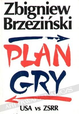 Okładka książki Plan gry: USA - ZSRR