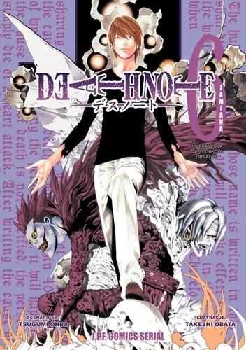 Okładka książki Death Note 6: Zamiana
