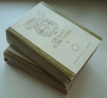 Okładka książki Dramat Elżbietański t.1-2