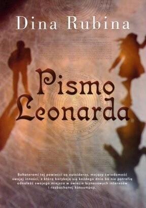 Okładka książki Pismo Leonarda