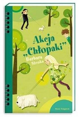 """Okładka książki Akcja """"Chłopaki"""""""