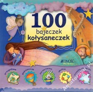 Okładka książki 100 bajeczek kołysaneczek