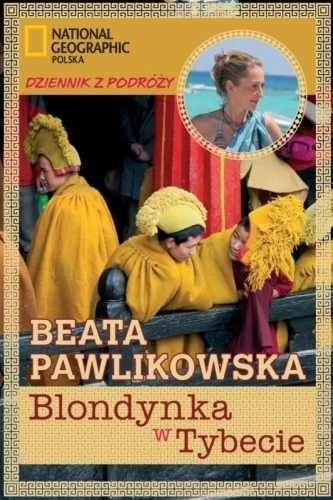Okładka książki Blondynka w Tybecie