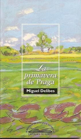 Okładka książki La primavera de Praga