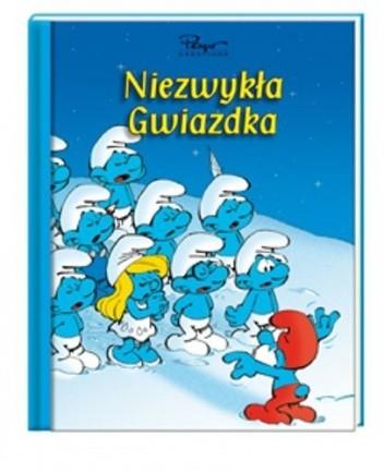 Okładka książki Smerfy. Niezwykła Gwiazdka