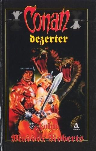 Okładka książki Conan dezerter