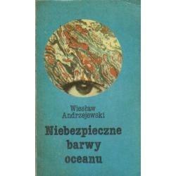 Okładka książki Niebezpieczne barwy oceanu