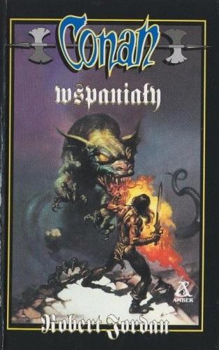 Okładka książki Conan wspaniały
