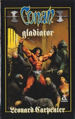 Okładka książki Conan gladiator