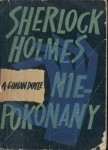 Okładka książki Sherlock Holmes niepokonany