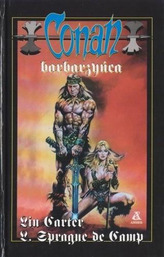 Okładka książki Conan barbarzyńca