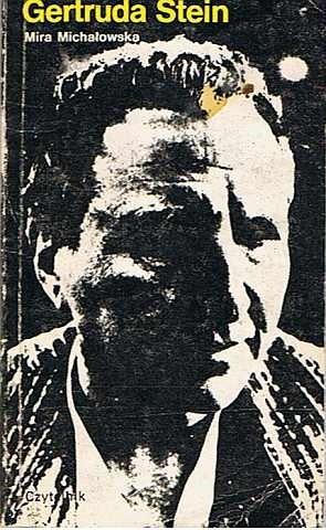 Okładka książki Gertruda Stein