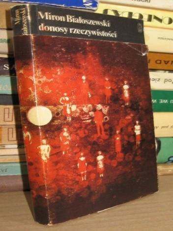 Okładka książki Donosy rzeczywistości