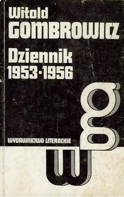 Okładka książki Dziennik 1953-1956