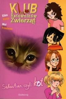 Okładka książki Sebastian, czyli kot