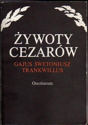 Okładka książki Żywoty cezarów