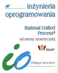 Okładka książki Rational Unified Process od strony teoretycznej