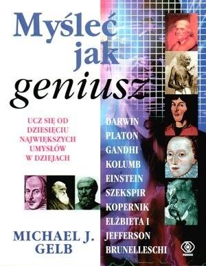 Okładka książki Myśleć jak geniusz