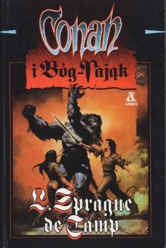 Okładka książki Conan i Bóg-Pająk
