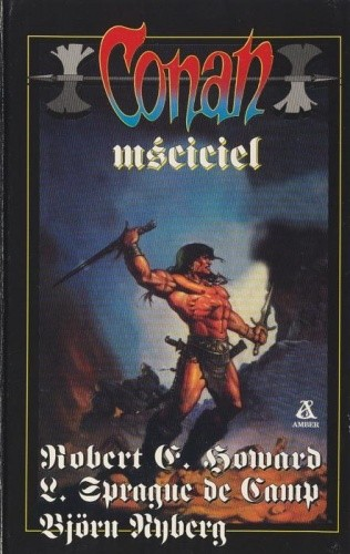 Okładka książki Conan mściciel