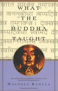 Okładka książki What The Buddha Taught