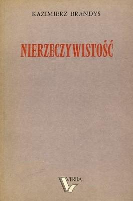 Okładka książki Nierzeczywistość