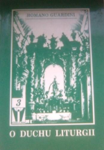 Okładka książki O duchu liturgii