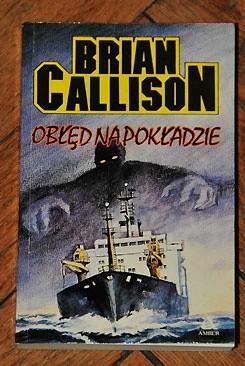 Okładka książki Obłęd na pokładzie