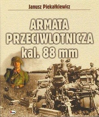 Okładka książki Armata przeciwlotnicza kal. 88 mm