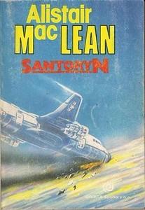 Okładka książki Santoryn
