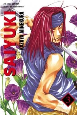 Okładka książki Saiyuki t. 3