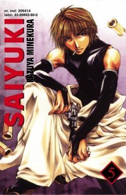 Okładka książki Saiyuki t. 5