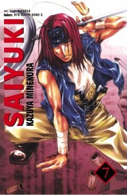 Okładka książki Saiyuki t. 7