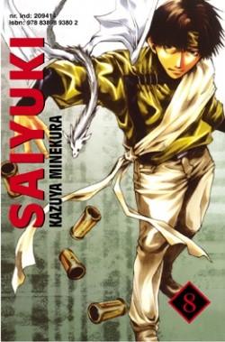 Okładka książki Saiyuki t. 8