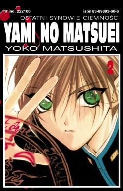 Okładka książki Yami no Matsuei. Ostatni synowie ciemności t. 2