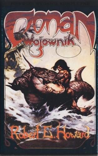 Okładka książki Conan wojownik