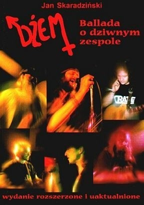 Okładka książki Dżem - Ballada o dziwnym zespole
