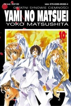 Okładka książki Yami no Matsuei. Ostatni synowie ciemności t. 10